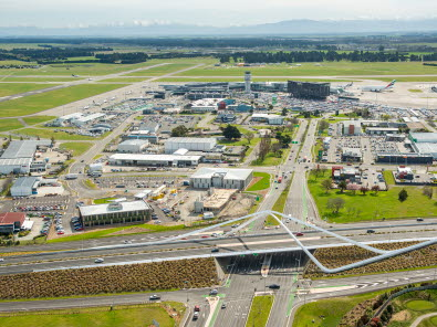 Christchurch Airport grows, against national trend
