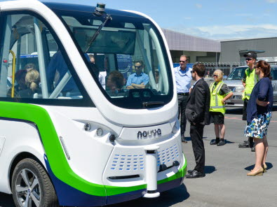 New Zealand's first Smart Shuttle unveiled in Christchurch