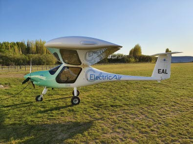 New Zealand's first electric aircraft launched at Christchurch Airport