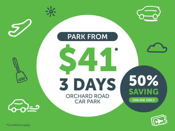 $41 for 3 days | Orchard Road