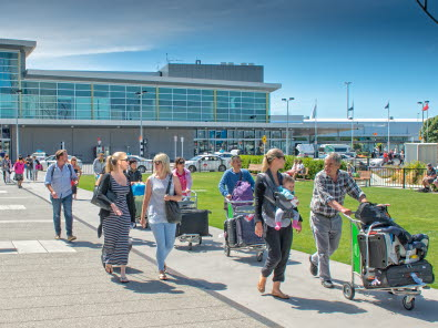 Record passengers drive half-year result for Christchurch Airport